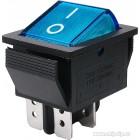 Клавиша большая 4 конт.   КСD4-604AA1 BUA6C  синяя [50 !], КСD4-604AA1 BOA6C