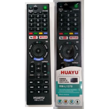 SONY universal RM-L1370(корпус типа RMT-TX102D NETFLIX/You Tube) LCD оптом