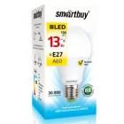 Светодиодная (LED) Лампа Smartbuy-A60-13W/3000/E27 ,теплый свет