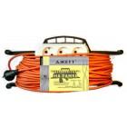 Электрический удлинитель на рамке ДЖЕТТ РС-3 ( провод ПВС оранжевый) 50 м