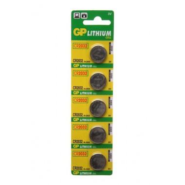 GP Lithium CR2032 5BP, 5 шт. оптом