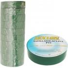 Лента изоляционная ПВХ LEXTON зелёная 25m/19mm