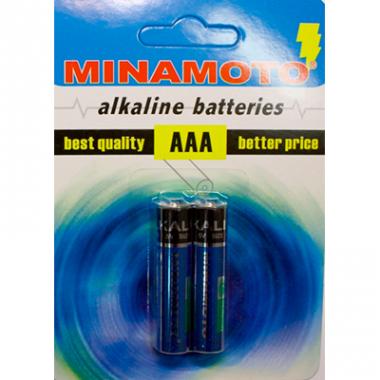 MINAMOTO Alkaline LR03, 2 шт. оптом