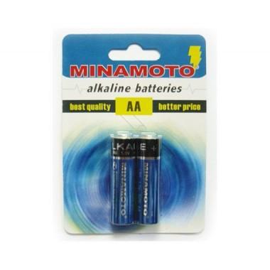 MINAMOTO Alkaline LR6, 2 шт. оптом