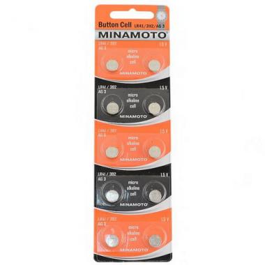 MINAMOTO LR41/392/AG3 10BP, 10 шт. оптом