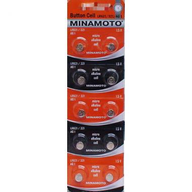 MINAMOTO LR621/321/AG1 10BP, 10 шт. оптом