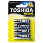 TOSHIBA Alkaline LR6 4BP, 4 шт.
