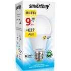 Светодиодная (LED) Лампа Smartbuy-A60-09W/3000/E27 ,теплый свет