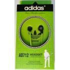 Наушники ADIDAS AD-712 HEADSET в коробке,Зелёные