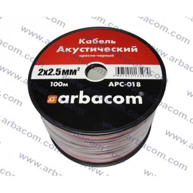 Акустический кабель 2х2.5кв.мм 100м на бобине (красно-черный) APC-018 оптом