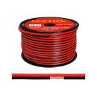 Акустический кабель 2х0.5кв.мм CCA LEXTON чёрно/красный, бухта 100м