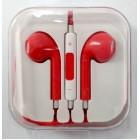 Наушники iPhone в коробке с яблоком,красные