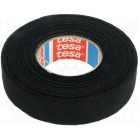 Лента изоляционная TESA 15m/19mm,черная,ткань
