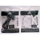 Наушники Adidas AD-013 в пакете(красивый дизайн и на шнуре надпись ADIDAS),белые