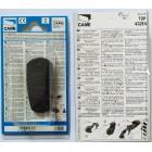 CAME TOP 432 EV 2 кнопки, 2-х канальный черный 433 Mhz