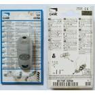 CAME TOP 432 NA 2 кнопки, 2-х канальный серый 433 Mhz