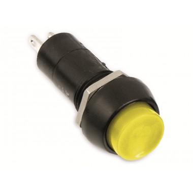 Кнопка нажимная  RWD-208 желтая OFF-(ON) (без фиксации) 250V,1A CY01H2 Y оптом