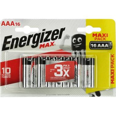 Energizer MAX LR03/AAA BP16/96 оптом