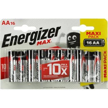Energizer MAX LR6/AA BP16/96 оптом