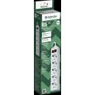 Сетевой фильтр Defender ES 1.8 1.8 м,5 розеток,белый