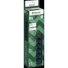 Сетевой фильтр Defender ES 3, 3.0 м,5 розеток,чёрный