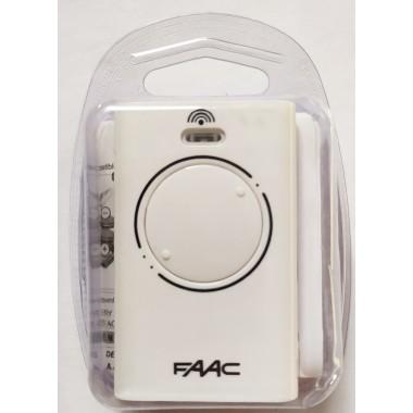 FAAC XT2 868 SLH LR 2 кнопки, 2-х канальный белый 868 Mhz оптом