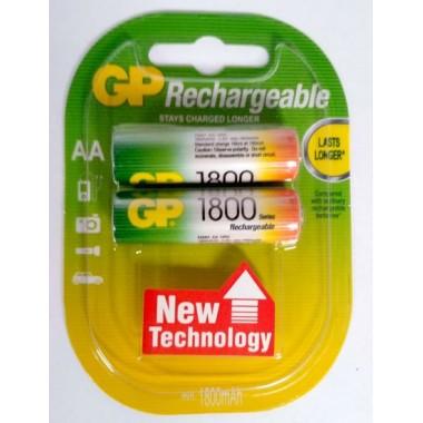 GP AA 1800mAh 2BP,2 шт. оптом