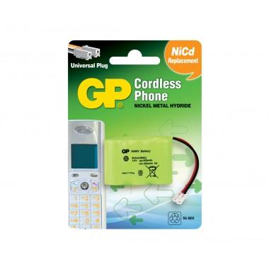 Аккумулятор для радиотелефона GP 60AAH3BMUPL-2U1 3,6V 600mAh оптом