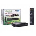Эфирный ресивер LEGEND DVB-T2 RST-L1204HD(пластик, дисплей,2 USB, кнопки)