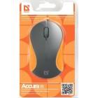 Мышь проводная Defender MS-970 Accura классическая USB серый,оранжевый