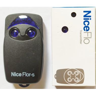 Nice FLO2R-S 2 кнопки, 2-х канальный черный 433 Mhz original оптом