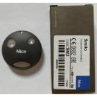 Nice SMILO SM2R01 2 кнопки, 2-х канальный черный 433 Mhz original