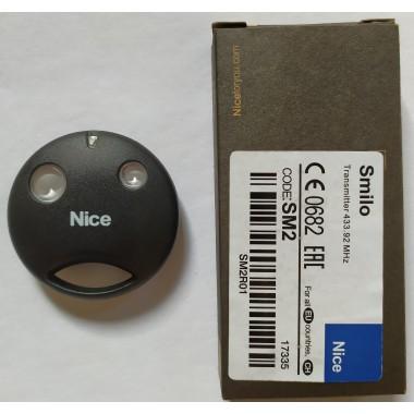 Nice SMILO SM2R01 2 кнопки, 2-х канальный черный 433 Mhz original оптом
