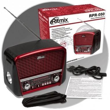 Радиоприемник Ritmix RPR-050 Red оптом