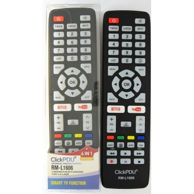 HUAYU RM-L1606 6in1 универсальный на LG,PHILIPS,PANASONIC,SAMSUNG,SHARP,SONY Smart TV LCD оптом