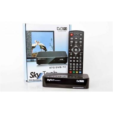 "SKYTECH 97G DVB-T2(""ON/OFF"";HDMI,AV,пластик) оптом"