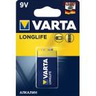 Батарейка VARTA LONGLIFE 9V BL-1