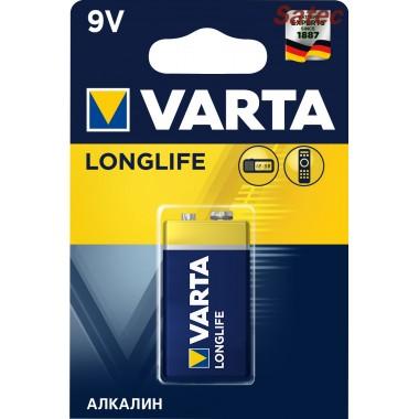 Батарейка VARTA LONGLIFE 9V BL-1 оптом