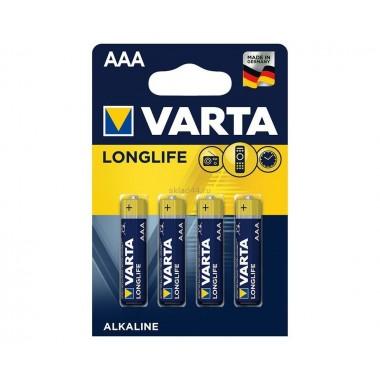 Батарейка VARTA LONGLIFE LR03 BL-4 оптом