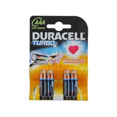 DURACELL TurboMax LR03/MN2400 4BP оптом