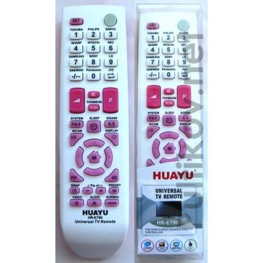 HUAYU HR-790 (корпус типа SAMSUNG BN59-00865A) white универсальный пульт для LCD ТВ (IC) оптом