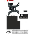 """Кронштейн для ТВ LCD-601M (диогональ 23-42""""(58-106 см),VESA 75,100,200,до 30 кг)"""
