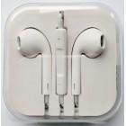 Наушники iPhone в коробке с яблоком,белые
