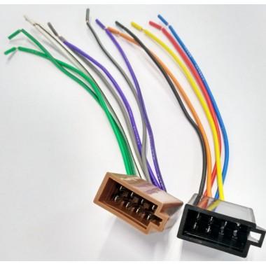 ISO гнездо для автомагнитол,акустика и питание оптом