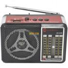 Радиоприемник Luxe Bass LB-A46,5 диапазонов MW/FM/TV/SW1-2 USB/MP3,2*R20 (не в компл.), 220V