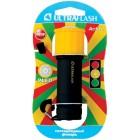Фонарь Ultraflash LED15001-B (3xR03 светофор, желтый с черным, 9 LED, пластик, блистер)
