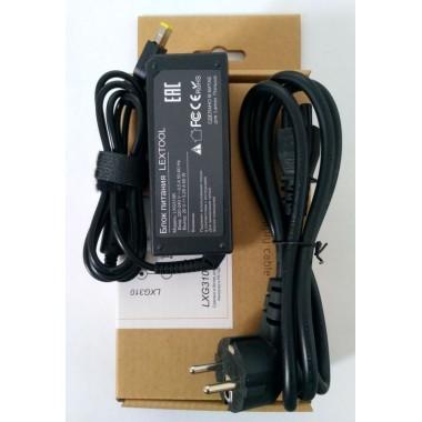 Блок питания для ноутбука LENOVO 20V 65W 3.25A,штекер 4.55х11 мм,квадратный желтый оптом