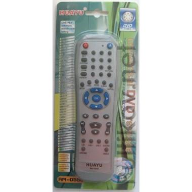 DVD universal(ввод кода) RM-D550 (копус типа ELENBERG RC-D010E)инст. на русск. яз.на блистере оптом