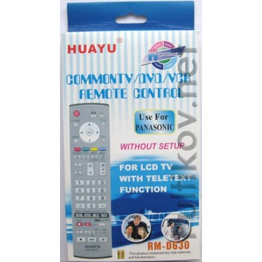 PANASONIC universal RM-D630(корп.типа EUR7635040) LCD  оптом