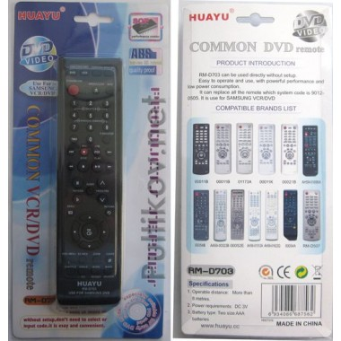 SAMSUNG universal RM-D703(корпус типа 00052E) DVD  оптом